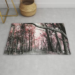 Pathway to Bliss Pink Rug