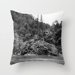 Spaatz-Eaker Mining Claim Cabin, Siskiyou National Forest, California, 1952 Throw Pillow
