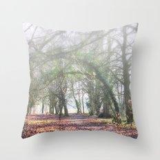 Enchanted Woodland Throw Pillow