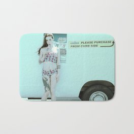 Ice Cream Popcicle Chola Bath Mat