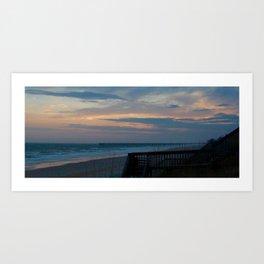 Holden Beach, NC Art Print