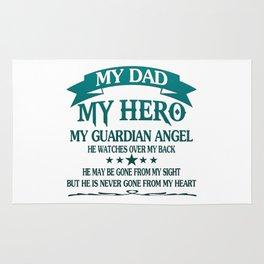 My Dad - My HERO Rug