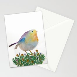 Watercolor Bird Stationery Cards