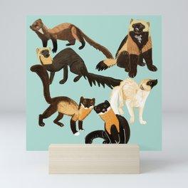 Martens of the World 2 Mini Art Print