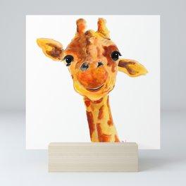 GiRaFFe / Zoo PRiNT ' ToMMY ' BY SHiRLeY MacARTHuR Mini Art Print