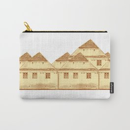 Village houses in Transylvania Carry-All Pouch