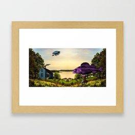 Fish Fillet Framed Art Print
