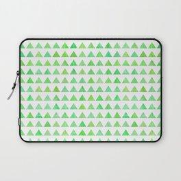 evergreen geometric pattern Laptop Sleeve
