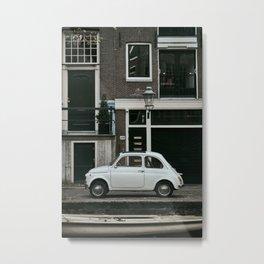 Classic Car   Amsterdam   Fine Art Print   Street Photography Metal Print