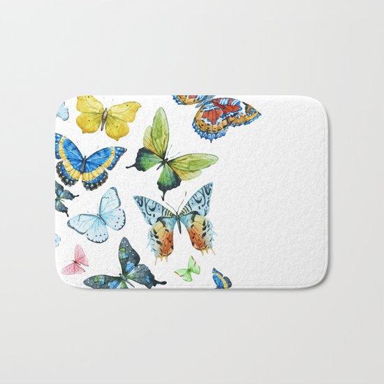 Butterflies 03 Bath Mat
