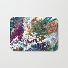 Color Oasis digitally enhanced from White Oasis Bath Mat