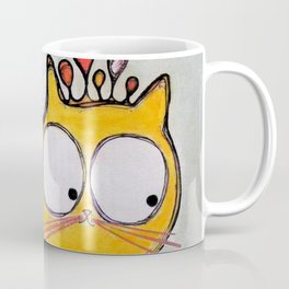 Funny cat in Moscow Coffee Mug
