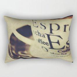 Espress-Yourself! Rectangular Pillow