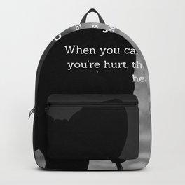 Jane Fonda Quote On Healing Backpack