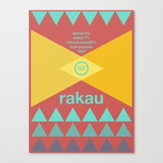 rakau single hop Canvas Print