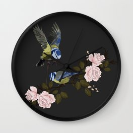 BlueTit Wall Clock