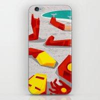 mod iPhone & iPod Skins featuring Iron-Mod by modHero