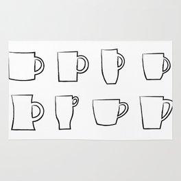 Mug Assortment Rug