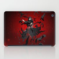 kakashi iPad Cases featuring Sharingan Genjutsu Izanami by Electra