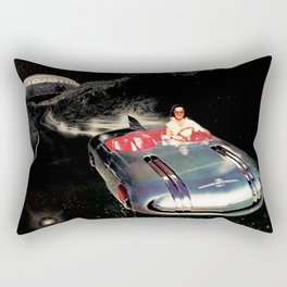 Lady Spacecar Rectangular Pillow