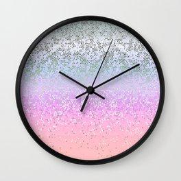 Glitter Star Dust G251 Wall Clock