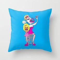 Vicarious Kids Throw Pillow