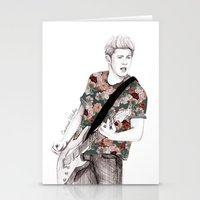 coconutwishes Stationery Cards featuring Floral Niall by Coconut Wishes