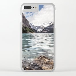 Landscape Lake Louise Clear iPhone Case
