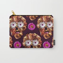 Withering Rose Skull Carry-All Pouch