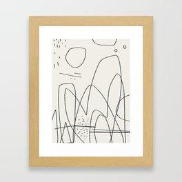 What a good day. Framed Art Print