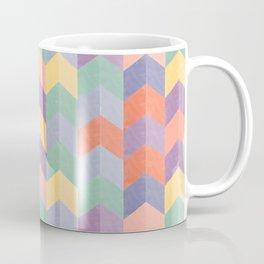 Colorful geometric blocks Coffee Mug