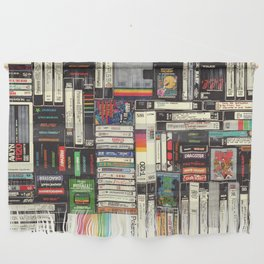Cassettes, VHS & Games Wall Hanging
