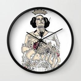 Woman sergeant queen Wall Clock