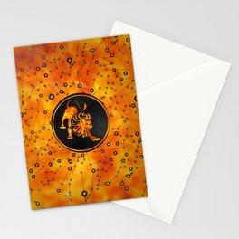 Leo Zodiac Fire element Stationery Cards