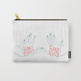 Sharp Hands Carry-All Pouch