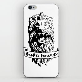 Take Heart iPhone Skin