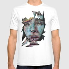 Melancholy Mens Fitted Tee White MEDIUM