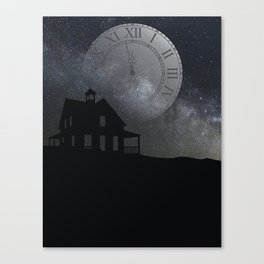 back before midnight Canvas Print