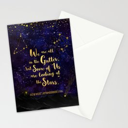 Wilde - Looking At The Stars Stationery Cards