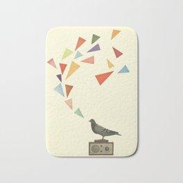 Pigeon Radio Bath Mat