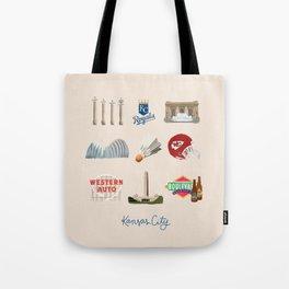 Kansas City, Missouri Tote Bag