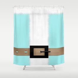 Christmas , Santa Claus 3 Shower Curtain