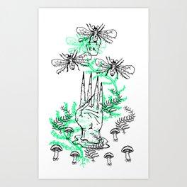 Рыба Art Print