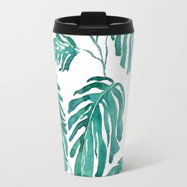 Monstera painting 2017 Travel Mug