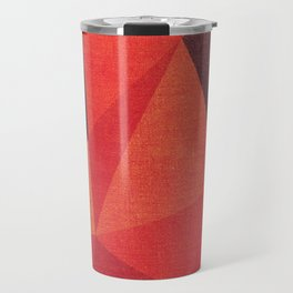 Abstract geometric patter.Triangle background Travel Mug