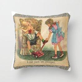 fool's paradise Throw Pillow