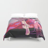 health Duvet Covers featuring Good for Health, Bad for Education by sarlisart