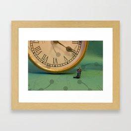 Big Time Busker Framed Art Print