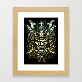 Revenge of Samurai Framed Art Print