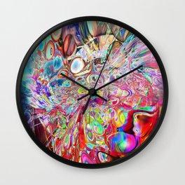 Full of joy Wall Clock